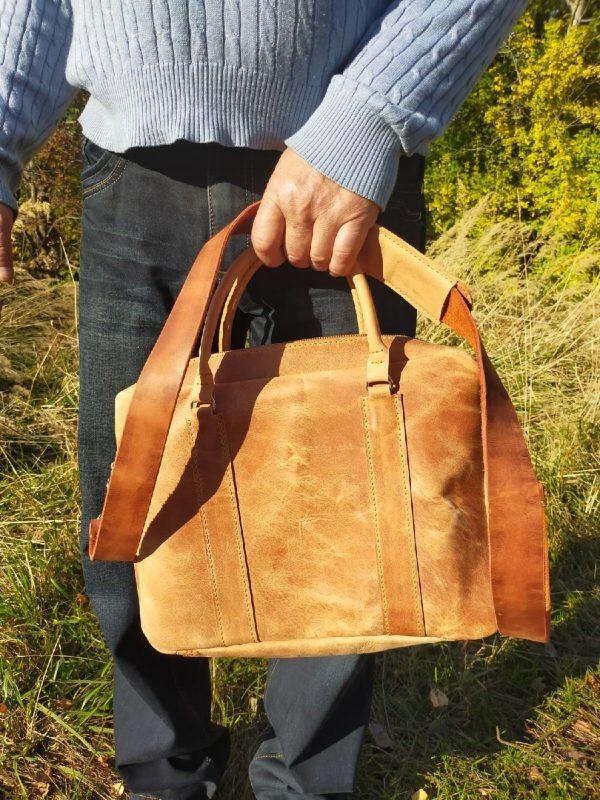 выкройка мужской сумки