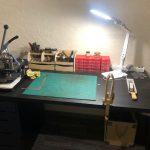 Рабочее место мастера кожевника